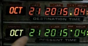 Marty McFly llegó del pasado al lejano 21 de octubre de 2015.